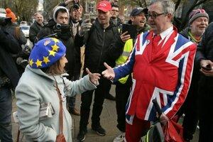 Súboj zástancov a odporcov brexitu sa nekončí.