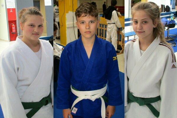 Zľava: Bolda Zonga Sztankovics, Bruno Kóšik a Bronislava Škorňová.