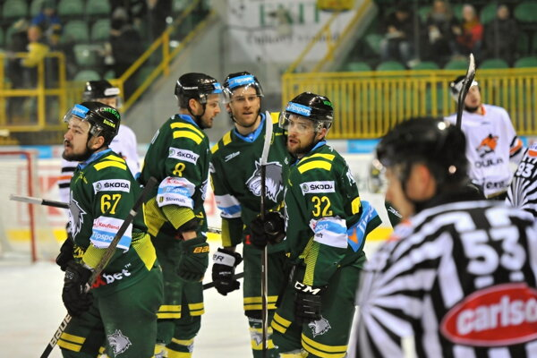 Osud žilinského hokeja ostáva nejasný. Ilustračné foto.