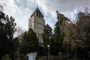 Evanjelický kostol v Prievoze.