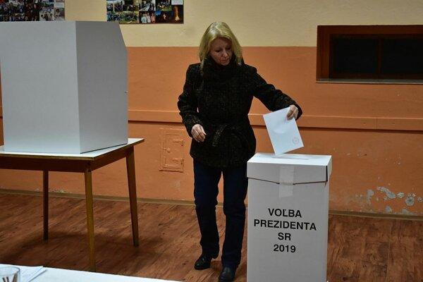 Z volieb v Zemianskom Kvašove.