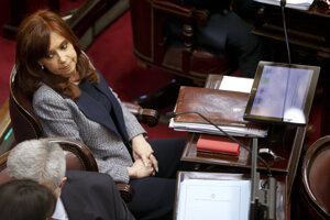 Argentínska exprezidentka Cristina Kirchnerová.