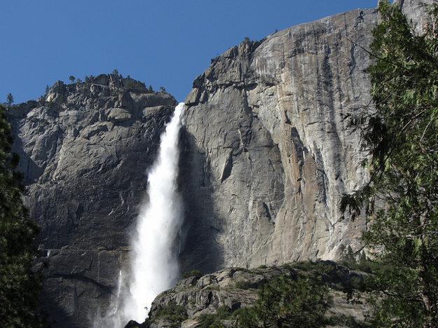 Yosemitský vodopád.