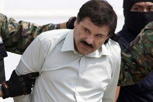 "Mexický narkobarón Joaquín ""El Chapo"" Guzmán"
