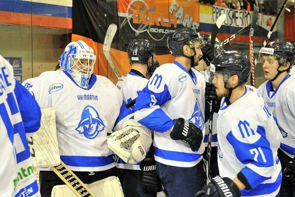 Martinskí hokejisti odvádzali počas sezóny výbornú prácu.