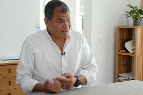 Bývalý prezident Ekvádoru Rafael Correa.