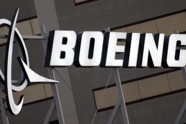 Logo spoločnosti Boeing.