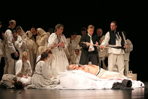 Juro Jánošík v Štátnej opere v Banskej Bystrici.