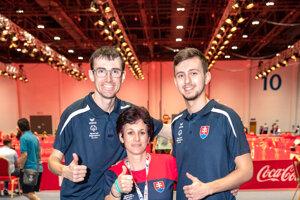 Matúš Mikle (vľavo) si vybojoval už svoju tretiu zlatú medailu.