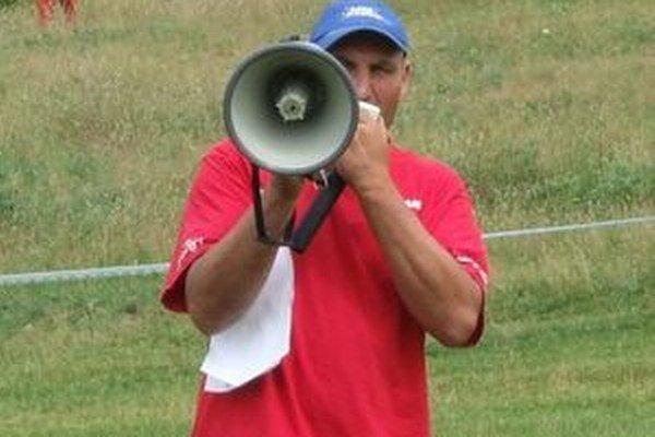 Pavol Garaj, riaditeľ pretekov.