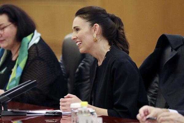 Novozélandská premiérka Jacina Ardernová.