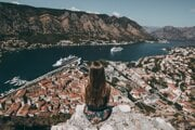 Prístav Kotor v Čiernej Hore