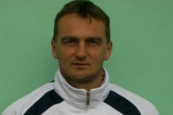 Tréner Karol Praženica.