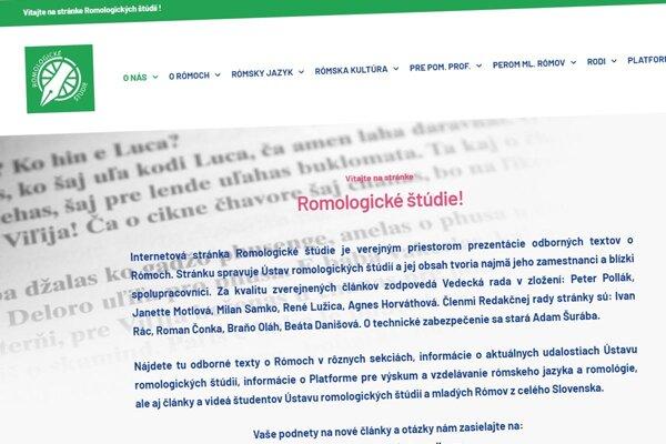 Nová webstránka.