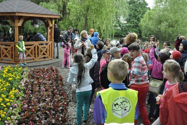Deti si súťažili o zaujímavé ceny.