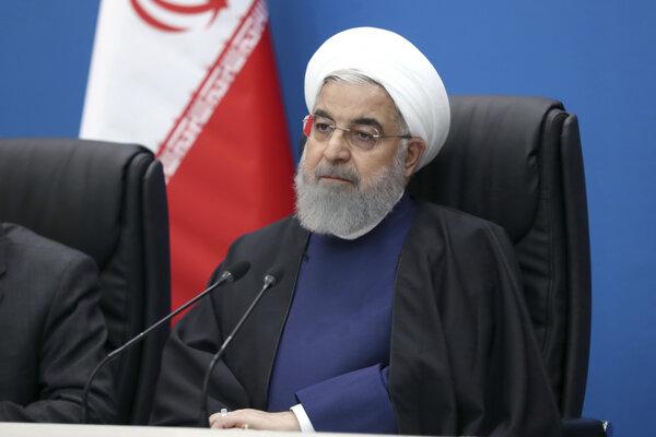 Iránsky prezident Hassan Rúhání.
