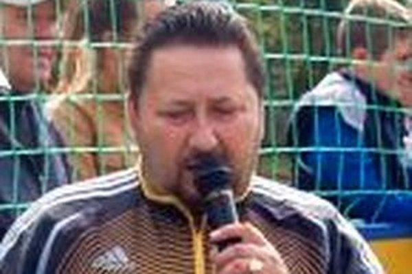 Peter Ďurica, tréner a exprezident FC Slovan Divín.