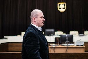 Marian Kotleba na Najvyššom súde.