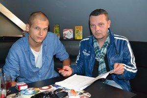 Zľava Marek Gabera a Mikuláš Jaraba.