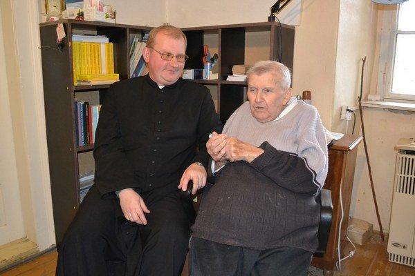 Jozef Parák (vľavo) a František Dombi.