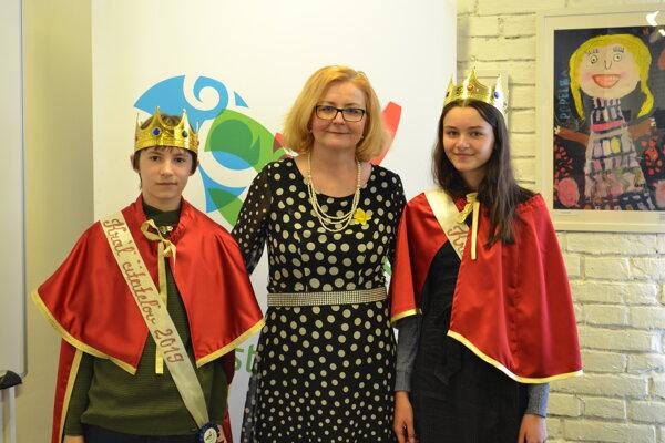 Víťazi súťaže Kráľ detských čitateľov.