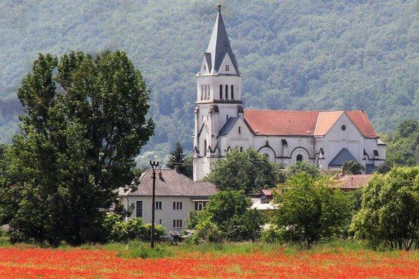 Kostol v Šuriciach.