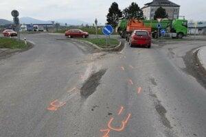Nehoda pri Bidovciach.