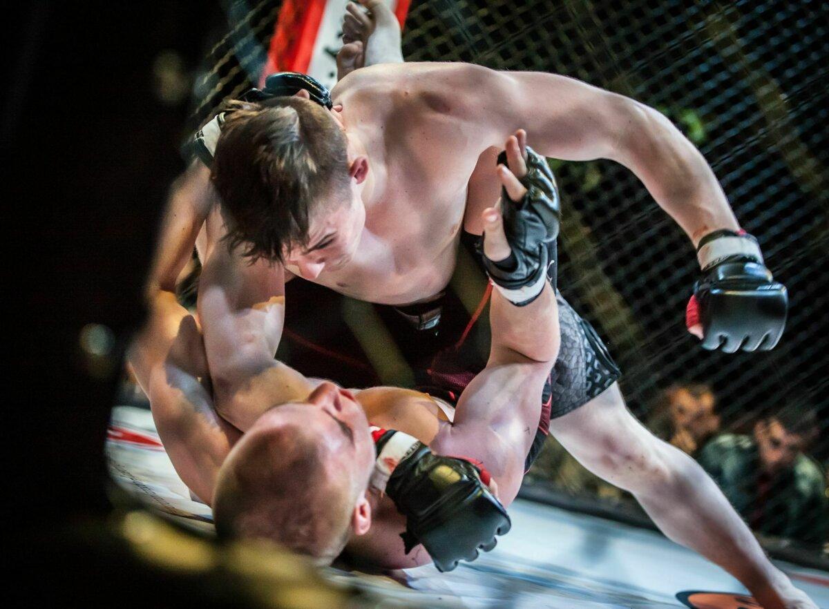 b12ddfabe5 ... domov Nitra opäť uvidí večer súbojov MMA. (Zdroj  Ján Csillag)