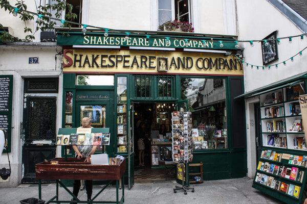 kníhkupectvo Shakespeare and company