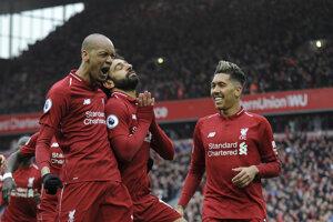 Liverpool vyhral už 26 ligových duelov, čím vyrovnal klubový rekord zo sezóny 2013/14.
