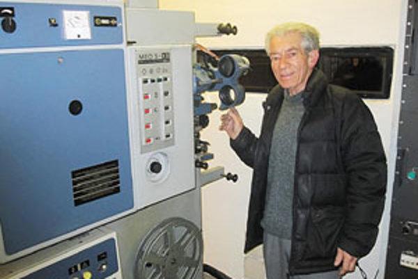 Ladislav Molnár svoju prácu miluje a kým bude vládať, nechce sa  filmového sveta vzdať.