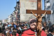 Posledné hodiny života Ježiša Krista si pripomenuli aj v osade v Trebišove.
