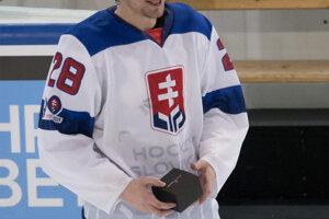 Marián Studenič, najlepší hráč slovenského tímu.