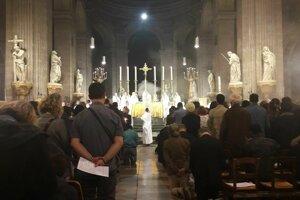 Veľkonočná vigília v Saint Sulpice