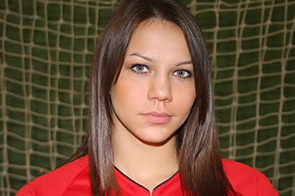 Réka sa chce stať platnou hráčkou v najvyššej maďarskej súťaži medzi ženami.
