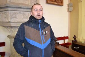 Anton Liška z Krajského pamiatkového úradu v Prešove informoval o výskumoch v kostole.