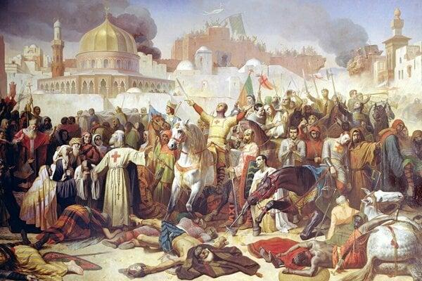 Emil Signol: Dobytie Jeruzalema Križiakmi 15. júla 1099.