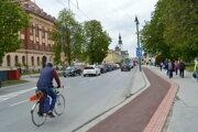 Cyklocesta v centre mesta je pred dokončením.