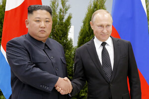 Putin sa stretol so severokórejským lídrom.