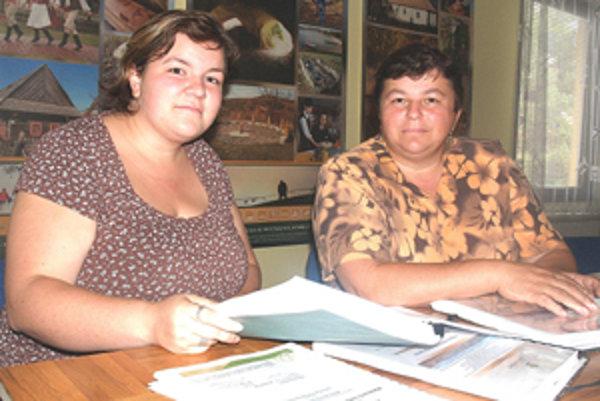 Šikovné dámy Kubaliakové majú pod palcom projekty pre obce združené v MAS Malohont.