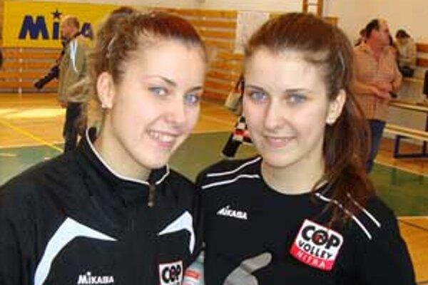 Jana a Radka Kubaliakové lete prestúpili z COP Nitra do VŠK Paneurópa Bratislava.