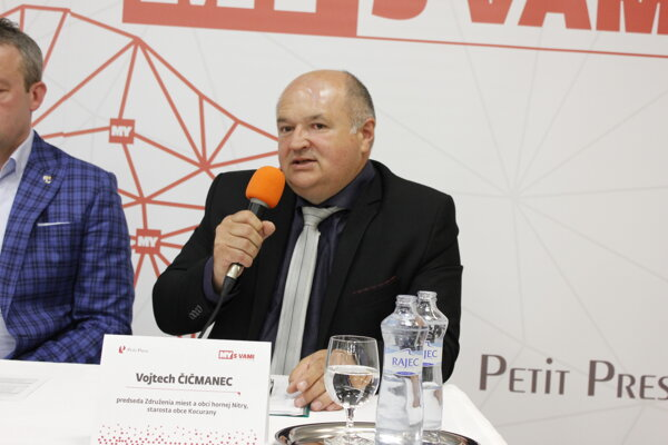 Vojtech Čičmanec, starosta obce Kocurany, predseda Združenia miest a obcí hornej Nitry
