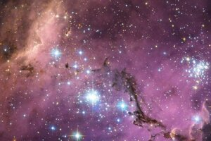 Galaxia Veľký Magellanov mrak, v ktorej vedci skúmali takzvané cefeidy, premenné hviezdy, pomocou ktorých určujú vesmírne vzdialenosti.