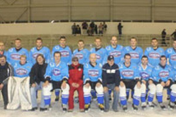 Hokejisti HKM Rimavská Sobota.