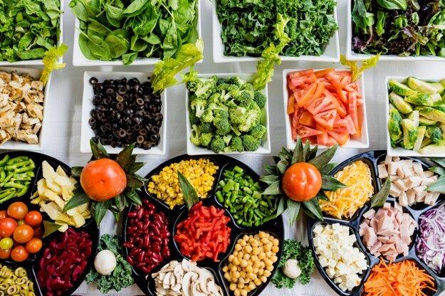 Aj pri all inclusive nájdete veľké množstvo zeleniny, ktorá tvorí zdravý základ jedla