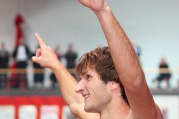 Výkon Michala Kabelku urobil veľkú radosť aj lučeneckému trénerovi Danielovi Paukovi.