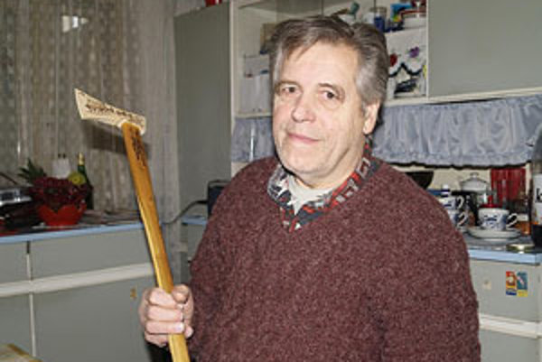 Klenovčan Ján Bejtic si bez valašky nevie predstaviť svoj život.