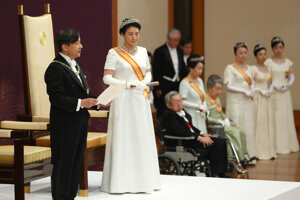 Nový japonský cisársky pár.