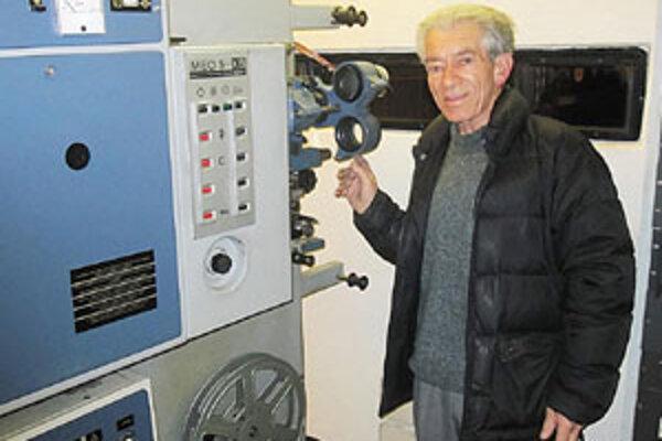 Pre Ladislava Molnára sa kino Orbit stalo druhým domovom.