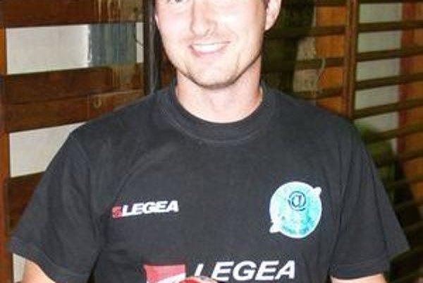 Jaroslav Adámek, hrajúci tréner STK Lučenec - Kalinovo.
